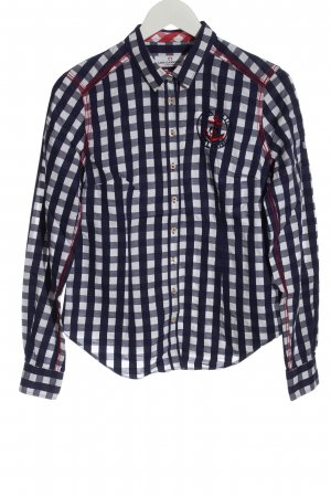 Lisa Campione Lumberjack Shirt blue-white check pattern casual look