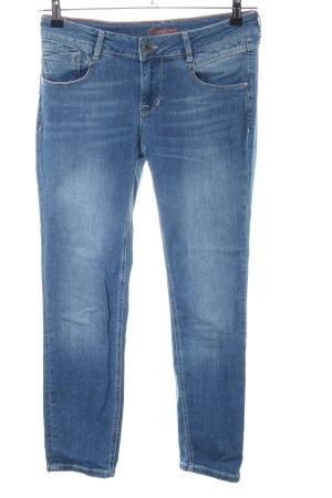 Lisa Campione Low Rise Jeans blue casual look mixture fibre