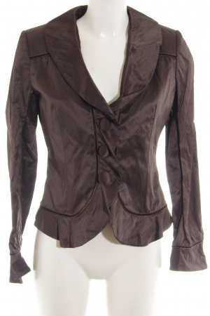 Lisa Campione Short Blazer brown elegant