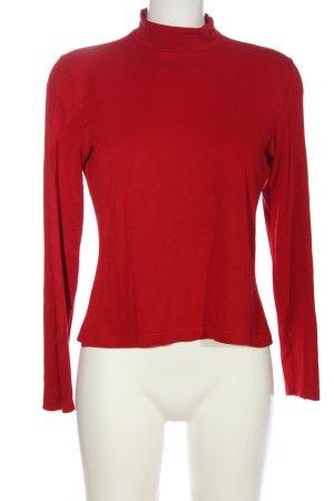 Lisa Campione Koszulka z golfem czerwony W stylu casual