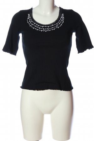 Lisa Campione Knitted Jumper black casual look