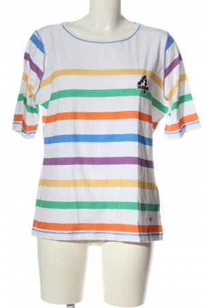 Lisa Campione T-Shirt striped pattern casual look