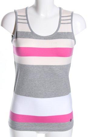 Lisa Campione Camiseta sin mangas moteado look casual