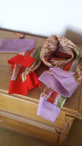 Scialle multicolore Cotone