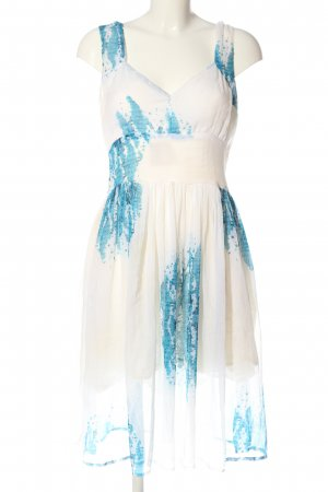 lisa malo Petticoat Dress white-blue abstract pattern casual look
