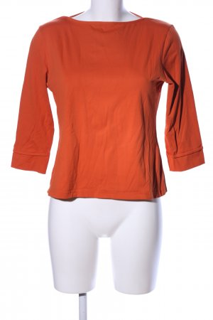 Lisa Steuten Langarm-Bluse hellorange Casual-Look