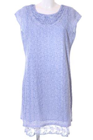 Lisa Tossa A-Linien Kleid blau Casual-Look