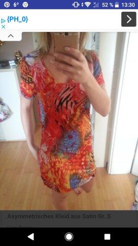 Lisa tossa Kleid asymmetrisch Orange