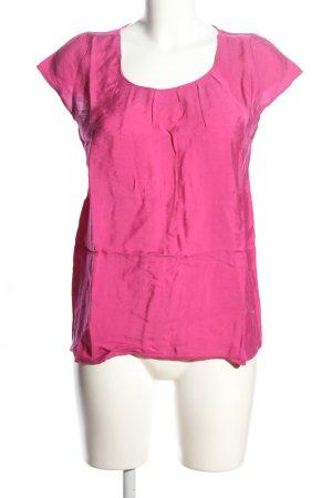 Lisa Tossa Kurzarm-Bluse pink Casual-Look