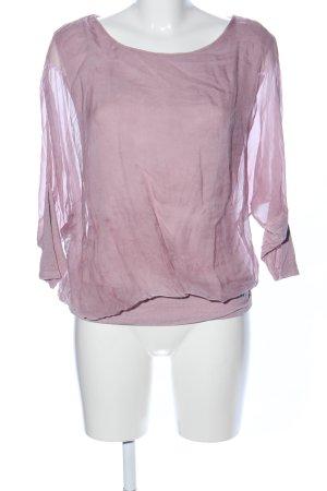 Lisa Tossa Longshirt pink Business-Look