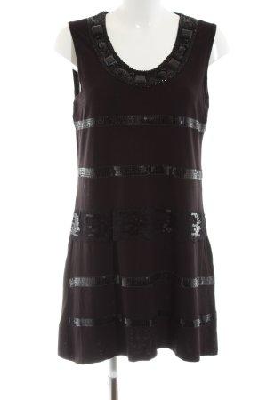 Lisa Tossa Minikleid schwarz Streifenmuster Street-Fashion-Look