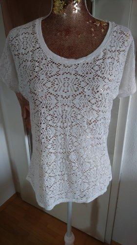 Lisa tossa Shirt Netz durchbrochen