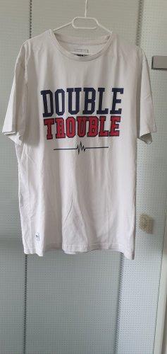 Lisa und Lena / J1MO71 weisses T-Shirt Double Troubel Gr.L