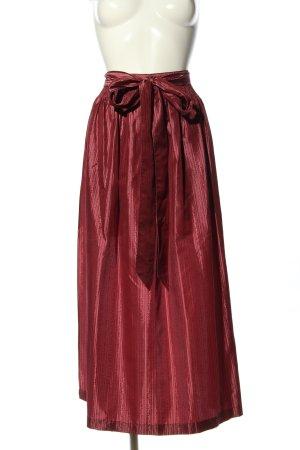 Lisas Landhaus Delantal folclórico rojo elegante