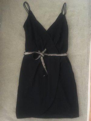 Mango Mini-jurk zwart Polyester
