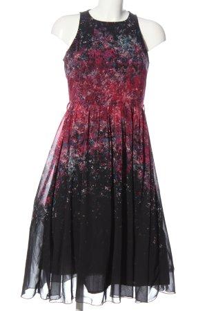 Little Mistress A-Linien Kleid schwarz-rot Elegant