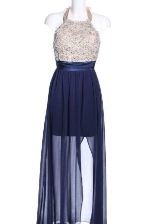Little Mistress Abendkleid blau-creme Party-Look