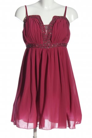 Little Mistress Vestido de baile rojo elegante