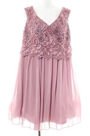 Little Mistress Chiffonkleid pink Blumenmuster Elegant