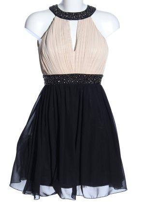 Little Mistress Cocktailkleid schwarz-creme Elegant