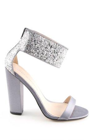 Little Mistress High Heel Sandaletten hellgrau Elegant