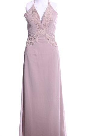 Little Mistress Maxi abito rosa elegante