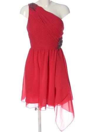 Little Mistress Eénschouderjurk rood elegant