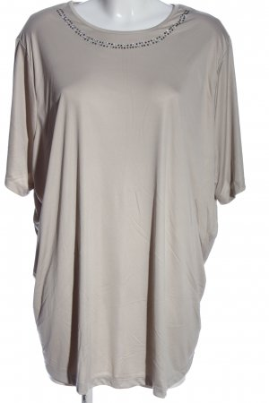 Little Rose Oversized Blouse brown casual look