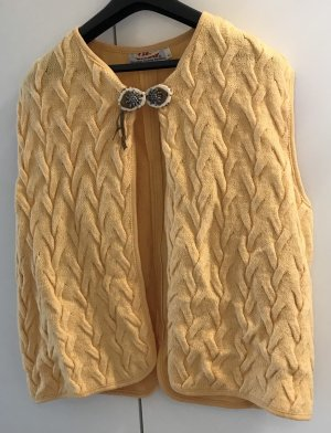 Crochet Cardigan yellow-primrose