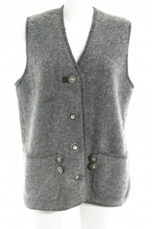 Litzfelder Traditional Vest dark grey-black elegant