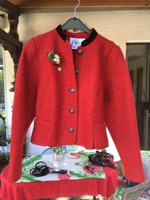 Litzfelder Folkloristische jas rood