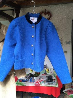 Litzfelder Folkloristische jas korenblauw