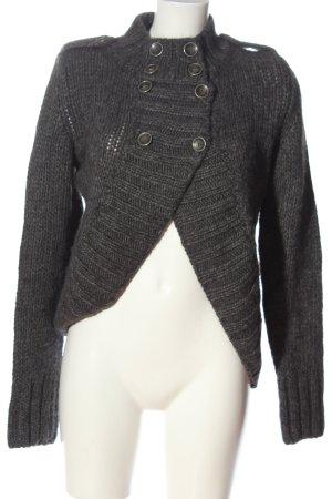 Liu jeans Cardigan grigio chiaro puntinato stile casual