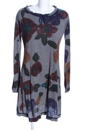 Liu jeans Langarmkleid Blumenmuster Casual-Look