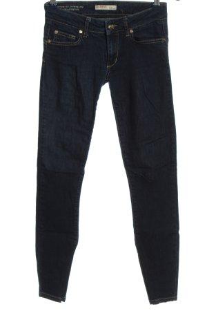 Liu jeans Jeans a sigaretta blu stile casual