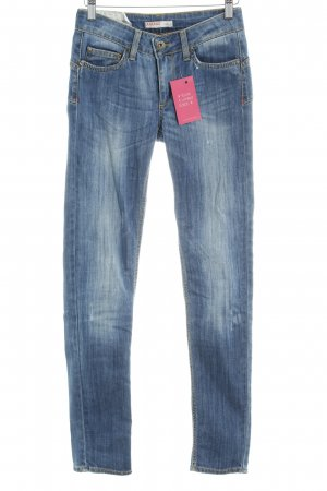 Liu jeans Straight-Leg Jeans kornblumenblau meliert Casual-Look