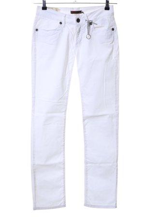 Liu jeans Treggings bianco stile casual