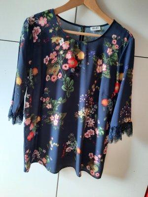 Liu jo Koronkowa bluzka ciemnoniebieski