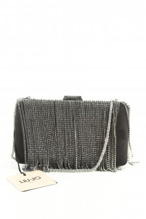 Liu jo Clutch schwarz-silberfarben Business-Look