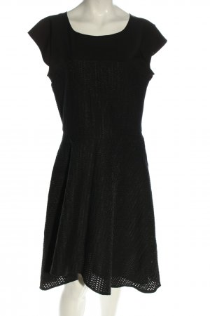 Liu jo Cut-Out-Kleid schwarz Elegant