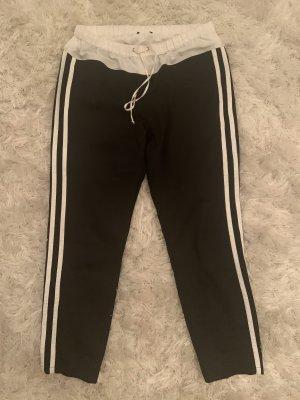 Liu jo Spodnie Capri czarny-biały