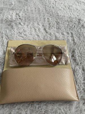 Liu jo Okrągłe okulary przeciwsłoneczne brąz