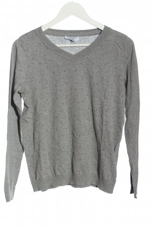 Liu jo Fine Knit Jumper light grey flecked casual look