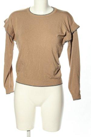 Liu jo Fine Knit Jumper nude-light grey flecked casual look