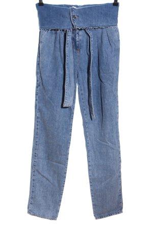Liu jo High-Waist Hose blau Casual-Look