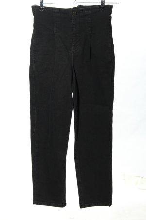 Liu jo Jeans a vita alta nero stile casual