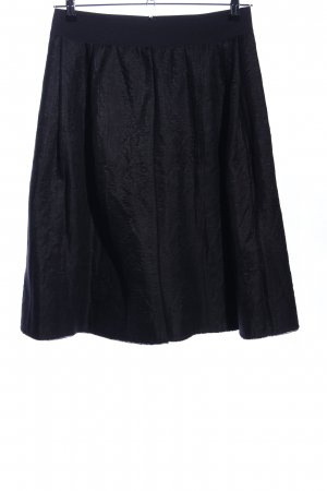 Liu jo Rok met hoge taille zwart zakelijke stijl
