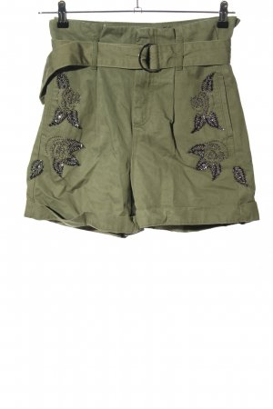Liu jo High-Waist-Shorts khaki casual look
