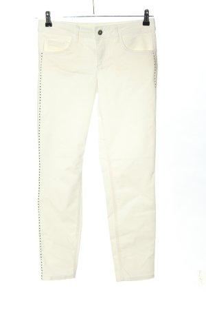 Liu jo Jeans vita bassa bianco sporco stile casual