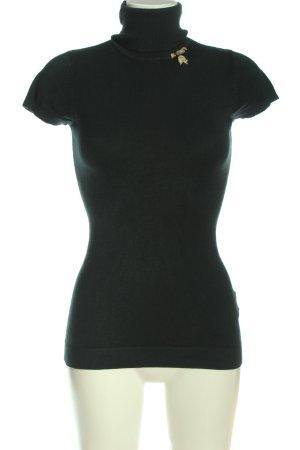LIU JO JEANS Turtleneck Shirt black-gold-colored casual look